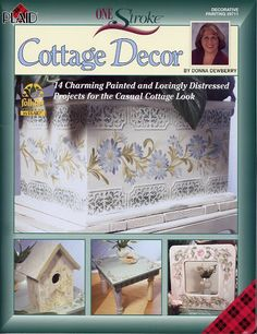 DONNA COTTAGE DECOR - TEREPINTURA - Picasa Web Albums...FREE BOOK!