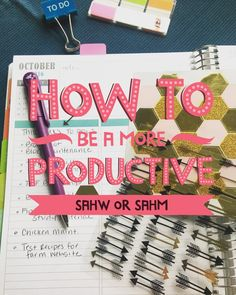 Tips and tricks for a more productive and streamlined day! Stay at home wife, stay at home mom, work at home wife, work at home mom.