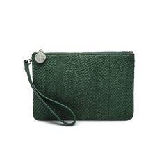 Green Inger salmon leather shoulder bag clutch 2499 Leather Shoulder Bag, Salmon, Studio, Green, Bags, Handbags, Leather Shoulder Bags, Studios, Totes