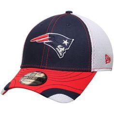74b7907ebb8 New England Patriots New Era Tumbled Neo 39THIRTY Flex Hat - Navy White