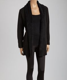 Take a look at this Black Cabin Jacket on zulily today!