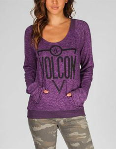 VOLCOM Badd A Moclov Womens Sweatshirt