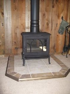 Tile Behind Wood Stoves Our Installers Handle It All