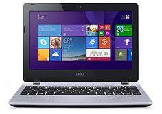 Acer Aspire E3-111 11.6-inch Notebook (Silver) - (Intel Celeron N2830 2.16GHz, 4GB RAM, 500GB HDD, WLAN, Bluetooth, Webcam, Integrated Graphics, Windows 8.1)
