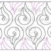 Digital Quilting Design Lorien's Arabesque by Lorien Quilting.