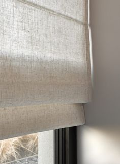 Complete your house with attractive, timeless window coverings – Rooms … Home Curtains, Curtains With Blinds, Window Coverings, Window Treatments, Cortinas Rollers, Window Molding Trim, Office Blinds, Custom Made Curtains, How To Make Curtains