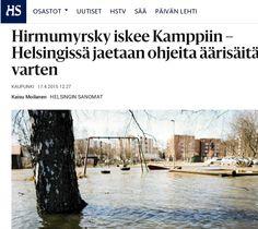 HSY:n Ilmastoinfo järjesti 22.4.2015 tapahtuman, jossa opetettiin varautumaan sään ääri-ilmiöihin. Communiké vastasi tapahtuman medianäkyvyydestä. Helsingin Sanomien ennakkojuttu 17.4.