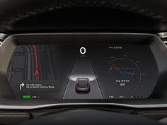 Super dashboard concept for Tesla by https://dribbble.com/lucvanloon  #ui #ux…