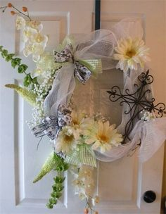 cross wreaths - Google Search