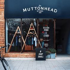 Today is Small Business Saturday. Join the #ShopSmall movement and support your neighbourhood small businesses. The Muttonhead Blackout sale continues in store and online. Use discount code BLACKOUT. Open tonight until 6.