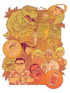 Jurassic Park by CHRIS RAIMO