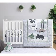 Crib Sets, Crib Bedding Sets, Crib Mattress, Baby Boy Bedding Sets, Dinosaur Room, Dinosaur Prints, Dinosaur Crib Bedding, Baby Boy Rooms, Baby Boy Nursery Themes