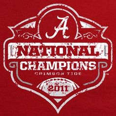LOVE this design! Might have to get me a new Bama shirt!