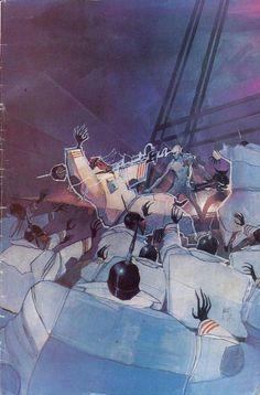 New Mutants Vol 1 #28 - alternate cover