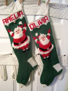 Columbia-Minerva Christmas stocking pattern published sometime between 1950 and…