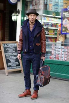 impressed London Collections: Men street style, a/w 2015 | Fashion, Trends, Beauty Tips & Celebrity Style Magazine | ELLE UK