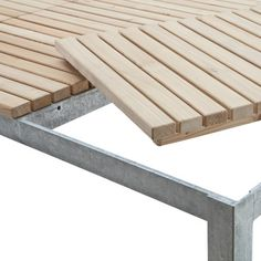 Manufactum Gartentisch Holz-Auflage | Tische