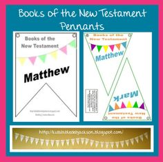 Books of the New Testament Pennants