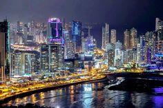 Panama-City-Buildings-Night