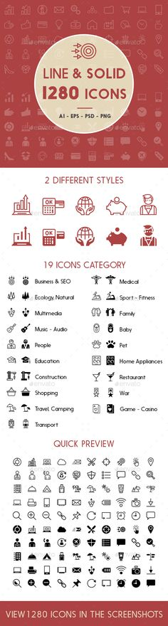 1280 Line and Solid Icons. Download here: http://graphicriver.net/item/1280-line-and-solid-icons/15244496?ref=ksioks