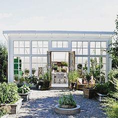 Här är ytterligare en variant av växthus som gör mig tillfreds hos @mariedelice…
