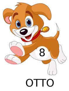 happy puppy animal icons pinterest happy puppy clip art and rh pinterest com Cute Cartoon Puppy Clip Art Puppy Love Clip Art