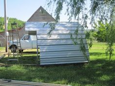 Authentic Living at Goat Creek: Recycle, Reuse: Trampoline Frames