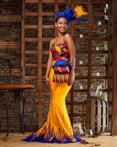 Hey Damsels, Have you checked out the latest Kente styles? It is true that Kente… African Wedding Attire, African Attire, African Dress, African Wear, African Style, African Beauty, Latest African Fashion Dresses, African Print Fashion, African Prints
