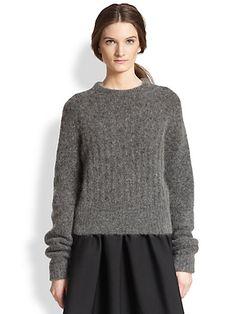 Acne Studios - Dania Textured Ribbed Sweater - Saks.com