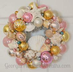 The Wreath Blog by GeorgiaPeachez: Wreaths for That Beachy Look