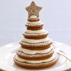 Kerstboom van koekjes
