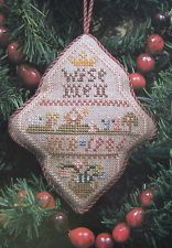 Mary Beale Ornament Chart WISE MEN Cross Stitch Pattern Christmas Card