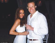 New photos have emerged of Prince Harry\'s girlfriend Meghan Markle during her wedding to former husbandTrevor Engleson (pictured together) in Jamaica in 2011