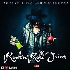 Rock'n'Roll Juicer mehustuskirja