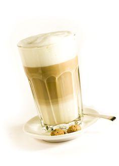 the Dutch 'koffie verkeerd' (lovely latte machiato)