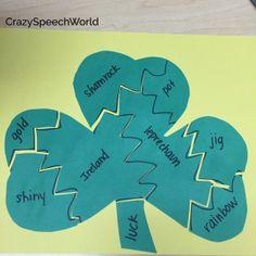 Shamrock Puzzle Craftivity!