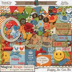 Happy As Can Be by Magical Scraps Galore http://www.scraps-n-pieces.com/store/index.php?main_page=product_info&cPath=66_152&products_id=2772