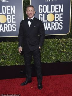 Golden Globes Rachel Weisz supports Daniel Craig at event Best Actress, Best Actor, Christopher Abbott, Best Television Series, Kaitlyn Dever, Sam Mendes, Best Screenplay, Natasha Lyonne, Rachel Brosnahan