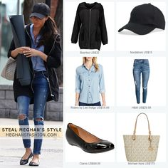 Steal Meghan Markle's casual denim style for less