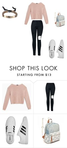 """""""school 3"""" by ikatsamaki on Polyvore featuring Max&Co., adidas and Red Camel"""