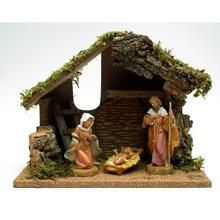 VoojoStore Fontanini Nativity with Starter Stable plus DVD - Perfect Gift For Men Women Couples Grandpa Father Mother Engagement Wedding Anniversary Christmas Birthday Him Her Sister Wife Husband After Christmas, Christmas Birthday, Christmas Holidays, Xmas, Nativity Stable, Nativity Sets, Fontanini Nativity, Outdoor Nativity, Personalized Gift Cards