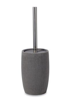 Toilet brush from next Toilet Brush, Bathroom Accessories Sets, Resin, Texture, Stuff To Buy, Grey, Surface Finish, Gray, Repose Gray