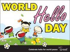 World Hello Day. http://www.danieltroppy.com/2014/11/21/world-hello-day-so-say-hello/ #worldhelloday #peace #hello #google