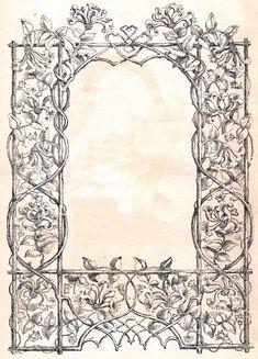 free vintage frame image