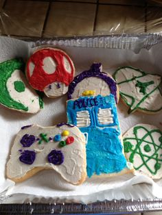 Cookies made by Tori