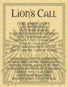 LEO~♌️ Lion's Call