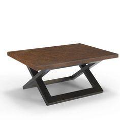 Homeware Hudson Coffee Table with Cork Tabletop & Reviews   Wayfair