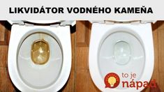 Ocot sa na tento účinok nechytá: Domáci kameňožrút za pár centov – za minútku rozpustí aj najodolnejší vodný kameň a usadeniny! Hacks, Cleaning, How To Make, Design, Bathroom, Board, Tips, Washroom