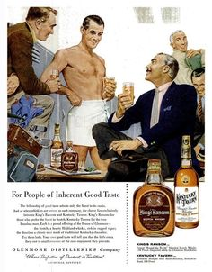 So...those old men are hanging out in the locker room giving Scotch to young men in towels?