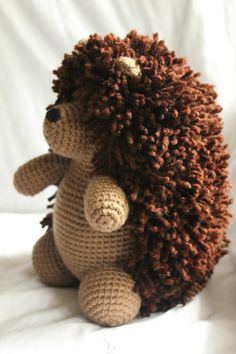 Herbert the Hedgehog Amigurumi Plush Crochet by daveydreamer